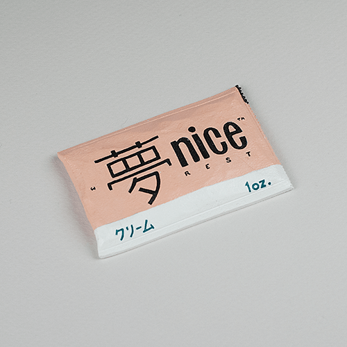"""""""Nice Rest"""" sculpture for SpiceMart, a series of small sculptures from artist and designer Chris von Szombathy"""
