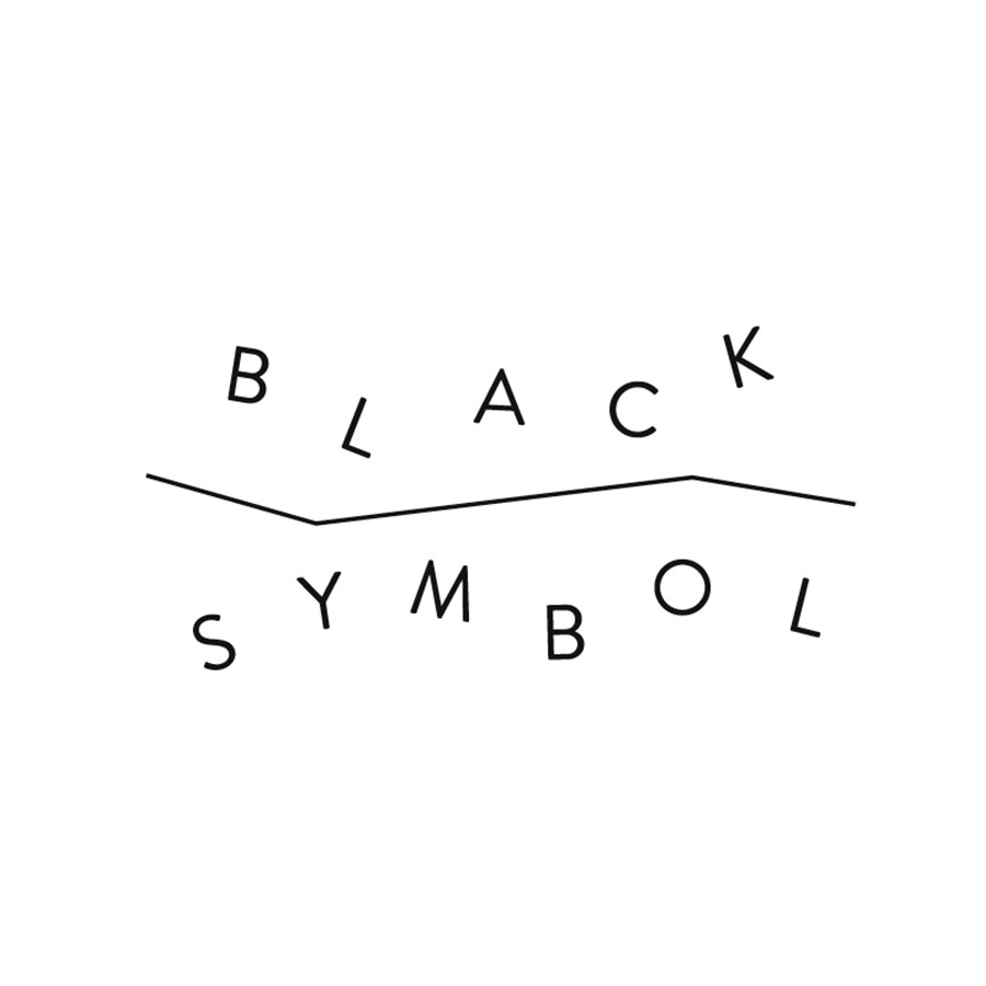 Logo design for Black Symbol. Designed by Chris von Szombathy and produced by RXVP